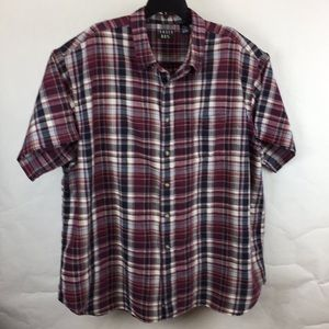 Trader Bay men's shirt 3XL linen/cotton button